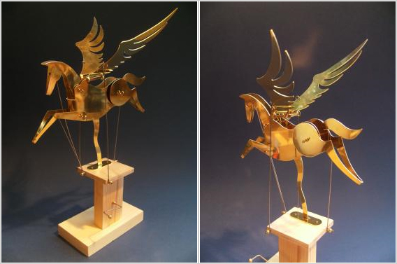 Words Fail:  Brass Pegasus automaton