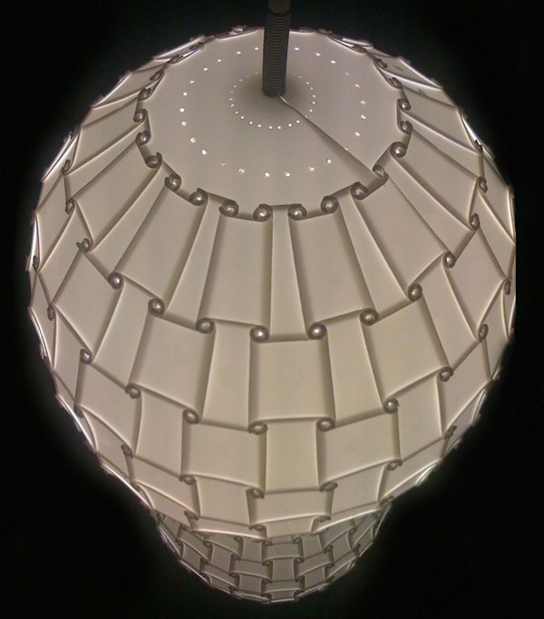 CNCed lampshade
