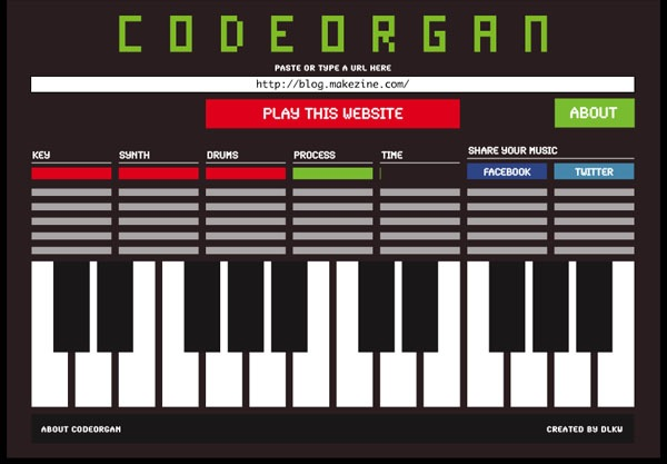 CODEORGAN turns sites into songs