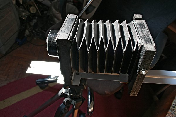 DIY digital view camera rig