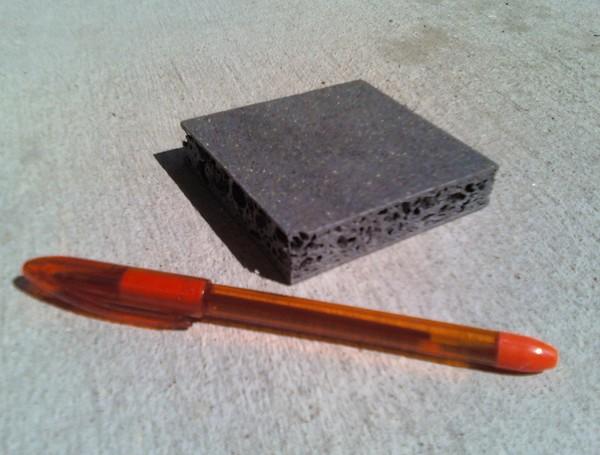 Plastic plywood substitute