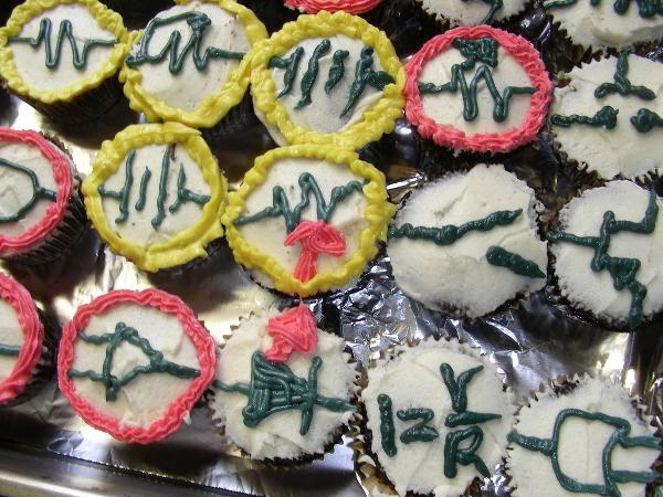 Electric cupcakes