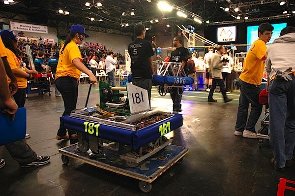FIRST Robotics expo NYC