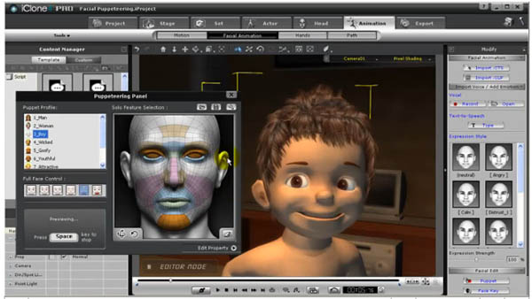 Giveaway: iClone4 PRO real-time animation software!