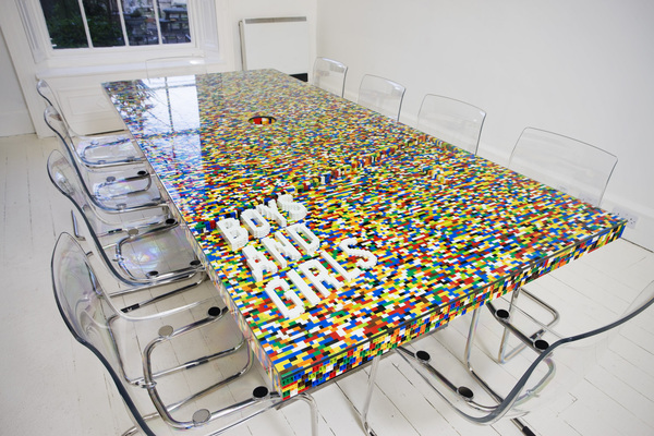 Lego conference table