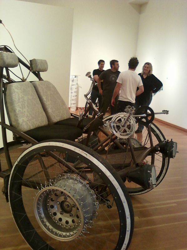Handcar Regatta vehicles get the art treatment