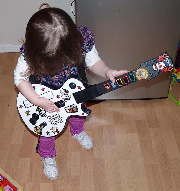 How-To: Toddler's Guitar Hero controller