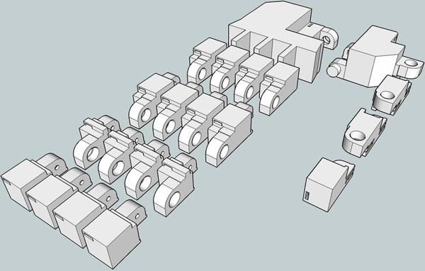 Printable mechanical hand