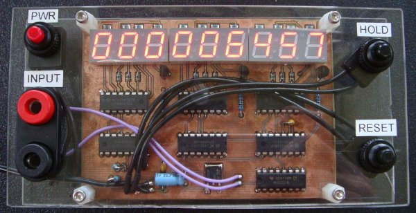 Building a pulse counter on the cheap
