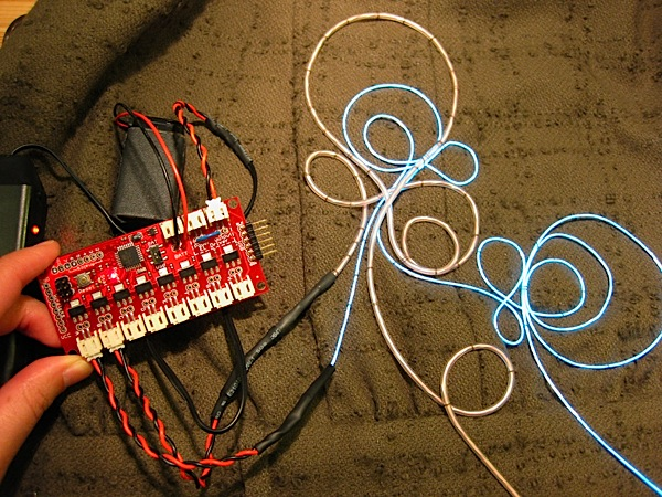 Programming el wire fashion make