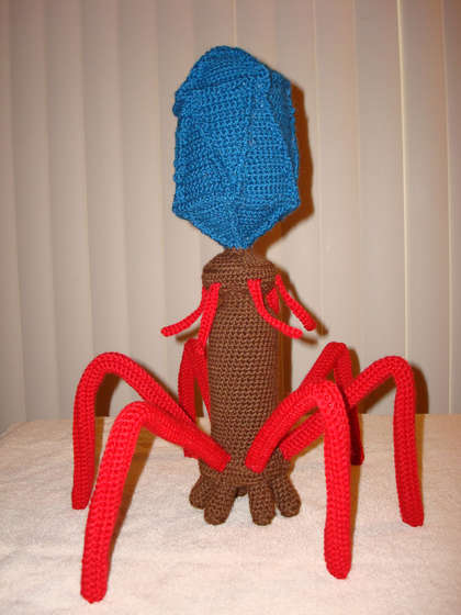 How-To:  Crochet a bacteriophage