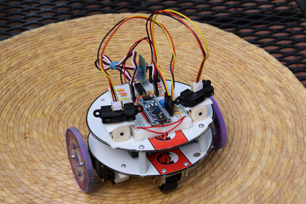 Coasterbot entry has obstacle avoidance, style