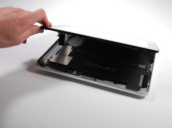 DIYPad: iFixIt iPad real-time teardown