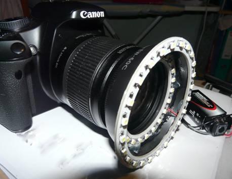 DIY Macro Lighting Ring