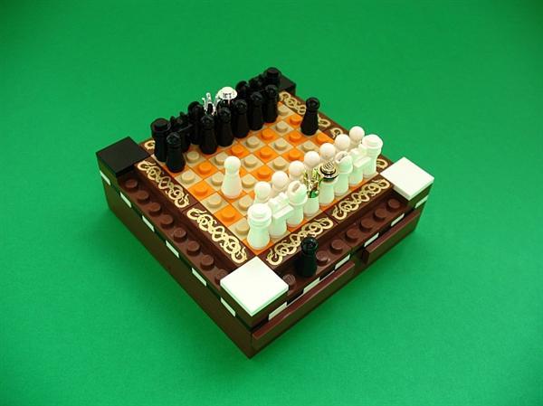 Awesometiny Lego chess set