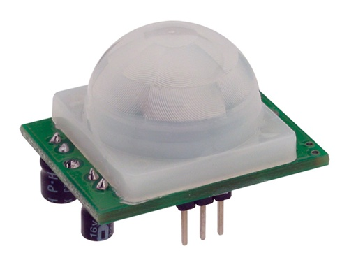 John Park in the Maker Shed: PIR Arduino motion alarm