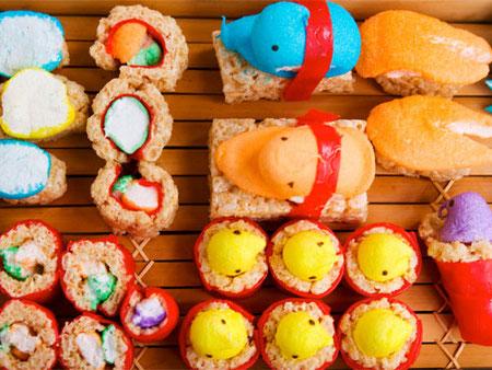 How-To: Make Peeps Sushi?