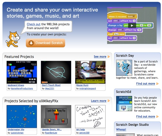 Scratch – educational programming app, removed from iTunes store