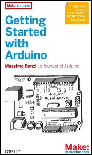 In the Maker Shed: Getting Started with Arduino book