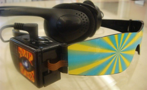In the Maker Shed: Trip Glasses