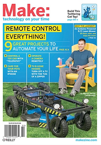 MAKE Volume 22: Remote Control