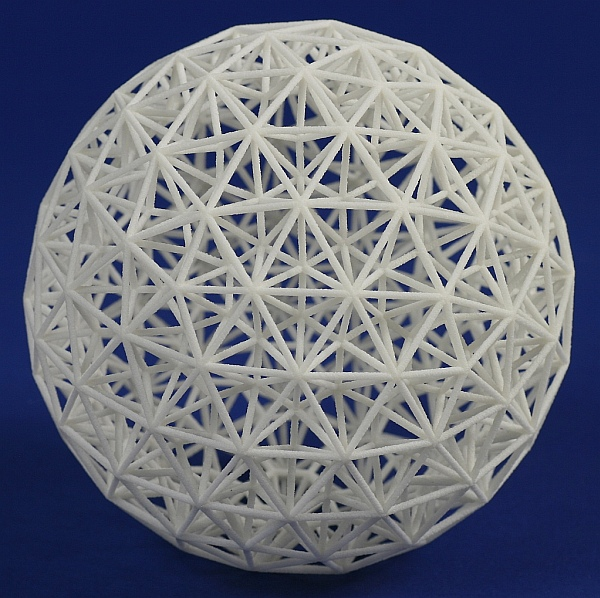 Math Monday: Two-layer geodesic spheres