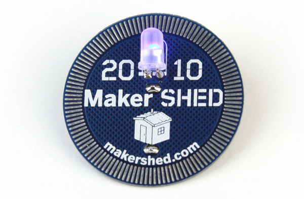 Learn to solder in the Maker Shed at Maker Faire