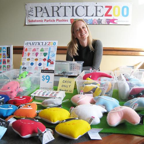 Bazaar Bizarre at Maker Faire: Particle Zoo
