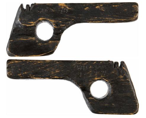 John Dillinger's fake escape pistol
