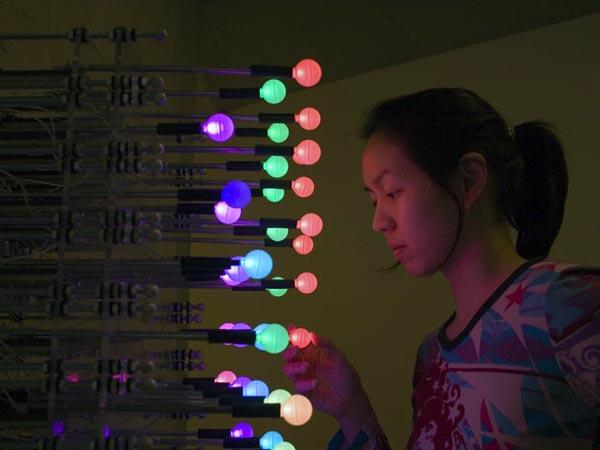 Glowbits: A tactile LED matrix