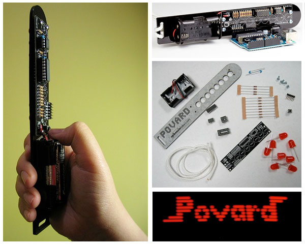 New in the Maker Shed: Povard POV kit
