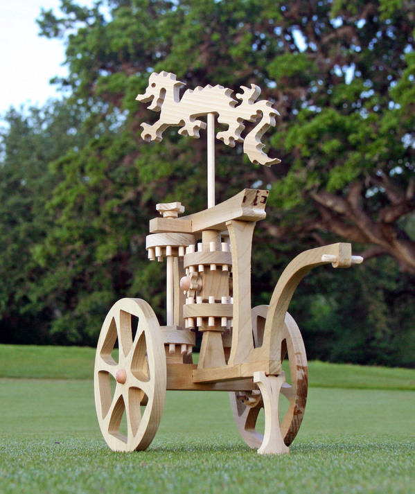Beautiful south-pointing chariot kit