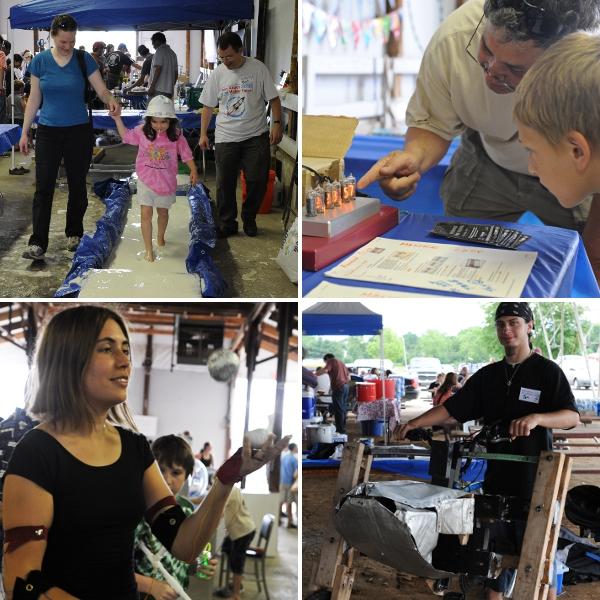 Ann Arbor Mini Maker Faire 2010: Success!