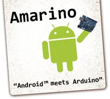 Amarino 2.0 toolkit for Android and Arduino
