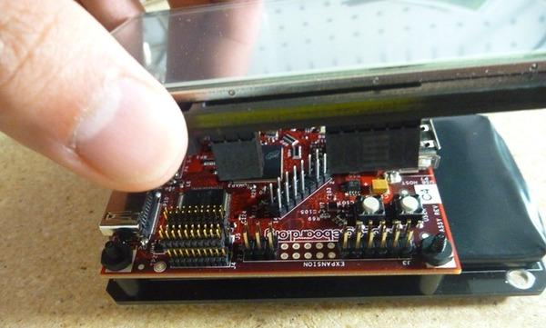 Modular BeagleBoard touchscreen gadgets