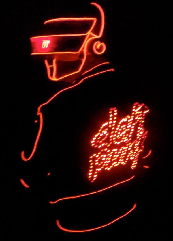 Daft Punk/Tron costume