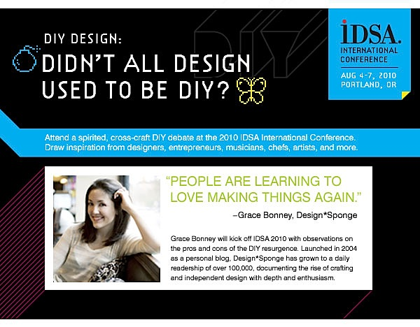 """IDSA theme this year """"DIY: Threat or Opportunity?"""""""