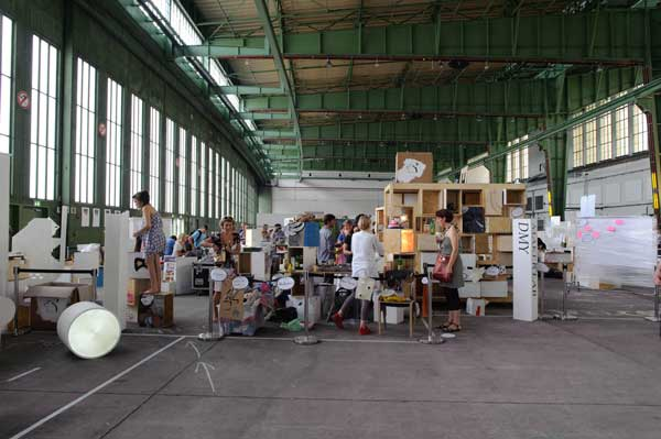 A popup Fab Lab at the DMY International Design Festival Berlin
