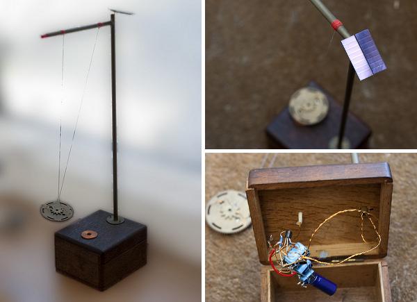 Beautiful solar pendulum build