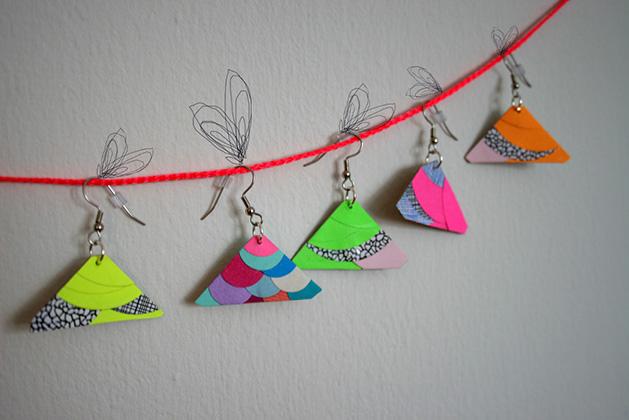 Esther Ramirez's Paper Jewelry