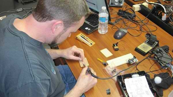 Hackerspace build-off at theTransistor