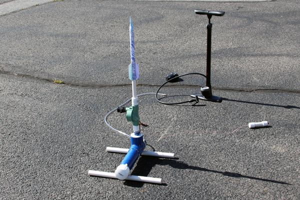 How To Building A Compressed Air Rocket Launcher Make