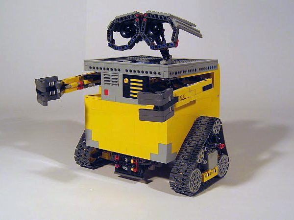 Transformable NXT Wall-E