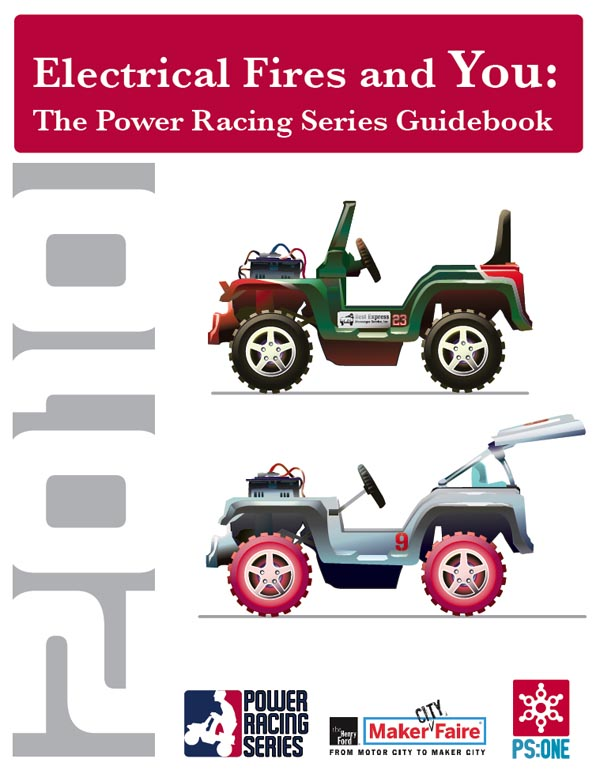 Power Racing: Grown humans stuffed into teeny-tiny cars (who aren't Shriners)