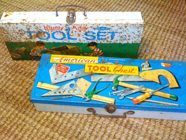 Toolbox: Retro kids tool sets