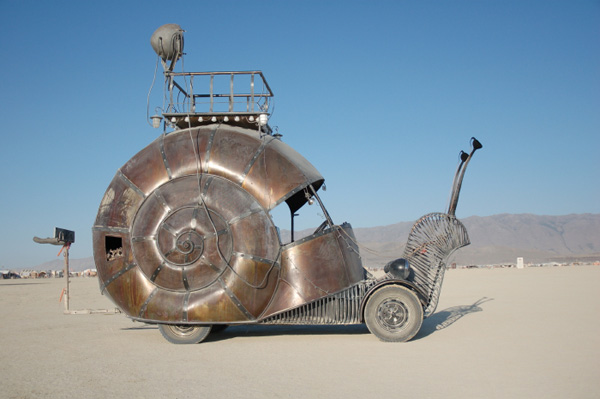 How-to make your own Golden Mean snail car