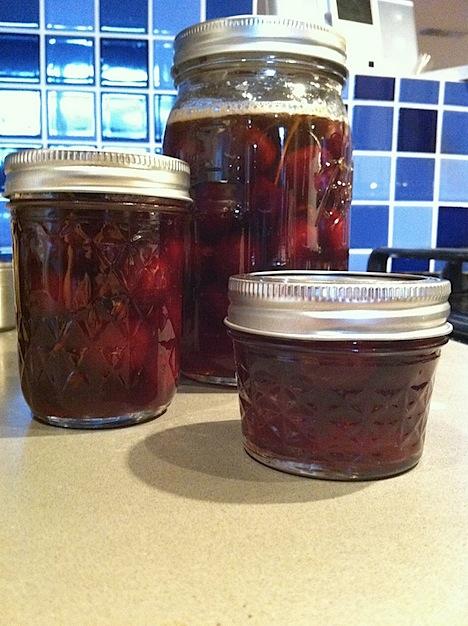 John Park's Brandied Cherries