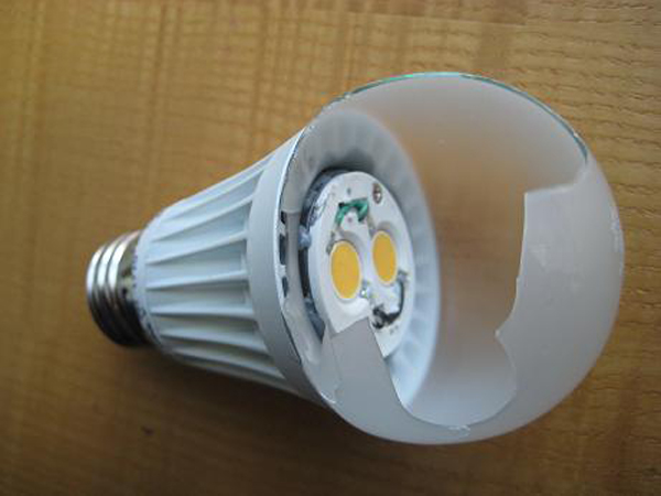 EcoSmart LED light teardown