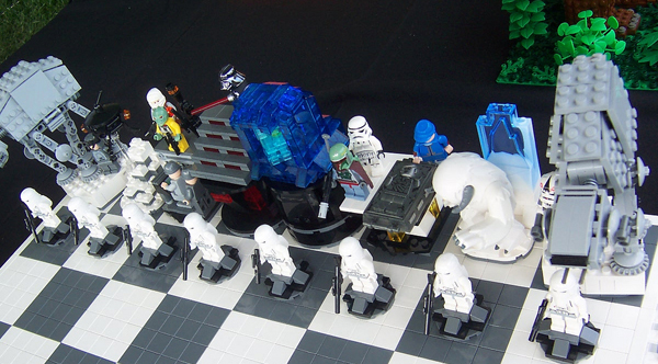 "Lego ""Empire Strikes Back"" chess set"