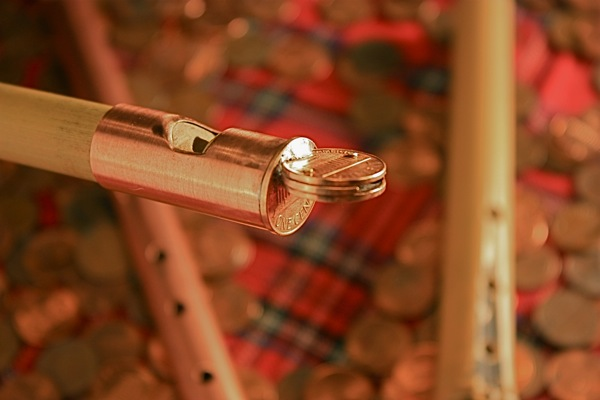 MAKE 23: Make a Pennywhistle from pennies